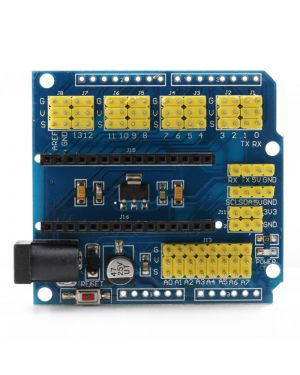 Arduino Nano Extension Board Blue