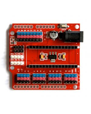 Arduino Nano Extension Board Red