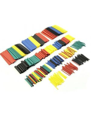 328pcs Assorted Heat Shrink Sleeve Electrical Cable Tube Tubing Wrap