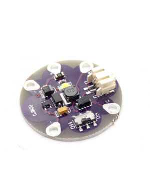 LilyPad LiPower Lithium Battery Power Step Up Module 5V