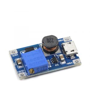 MT3608 Step-Up Adjustable DC-DC Switching Boost Converter with USB