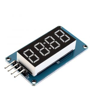 TM1637 4 Bits Digital LED Display Module 7 Segment 0.36 Inch RED Anode Tube Four Serial Driver Board