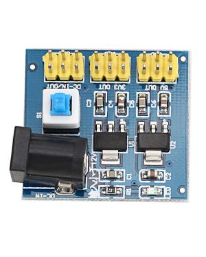 DC-DC Voltage Converter Multi-output Power Supply Module 12V to 3.3V/5V/12V